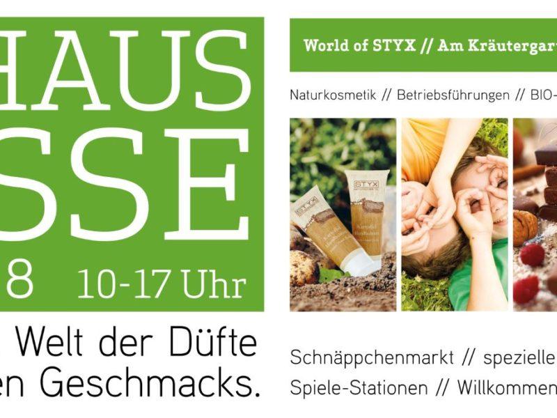 Hausmesse Banner STYX