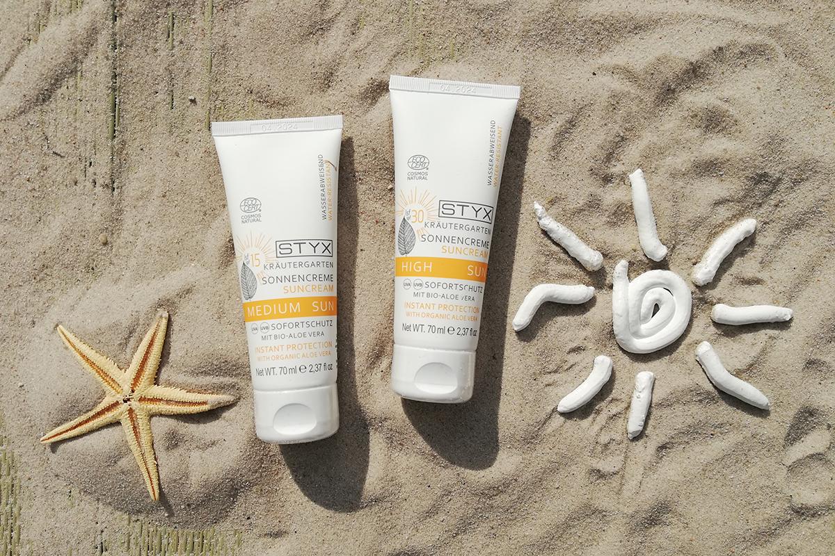 STYX SUN Sonnencreme, Hautpflege im Sommer