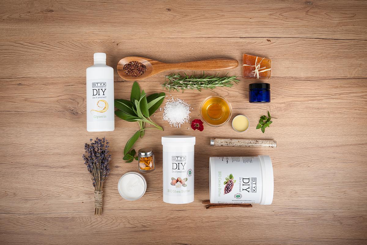 DIY Rezepte, Shea Butter, Cacao Butter von STYX Naturcosmetic