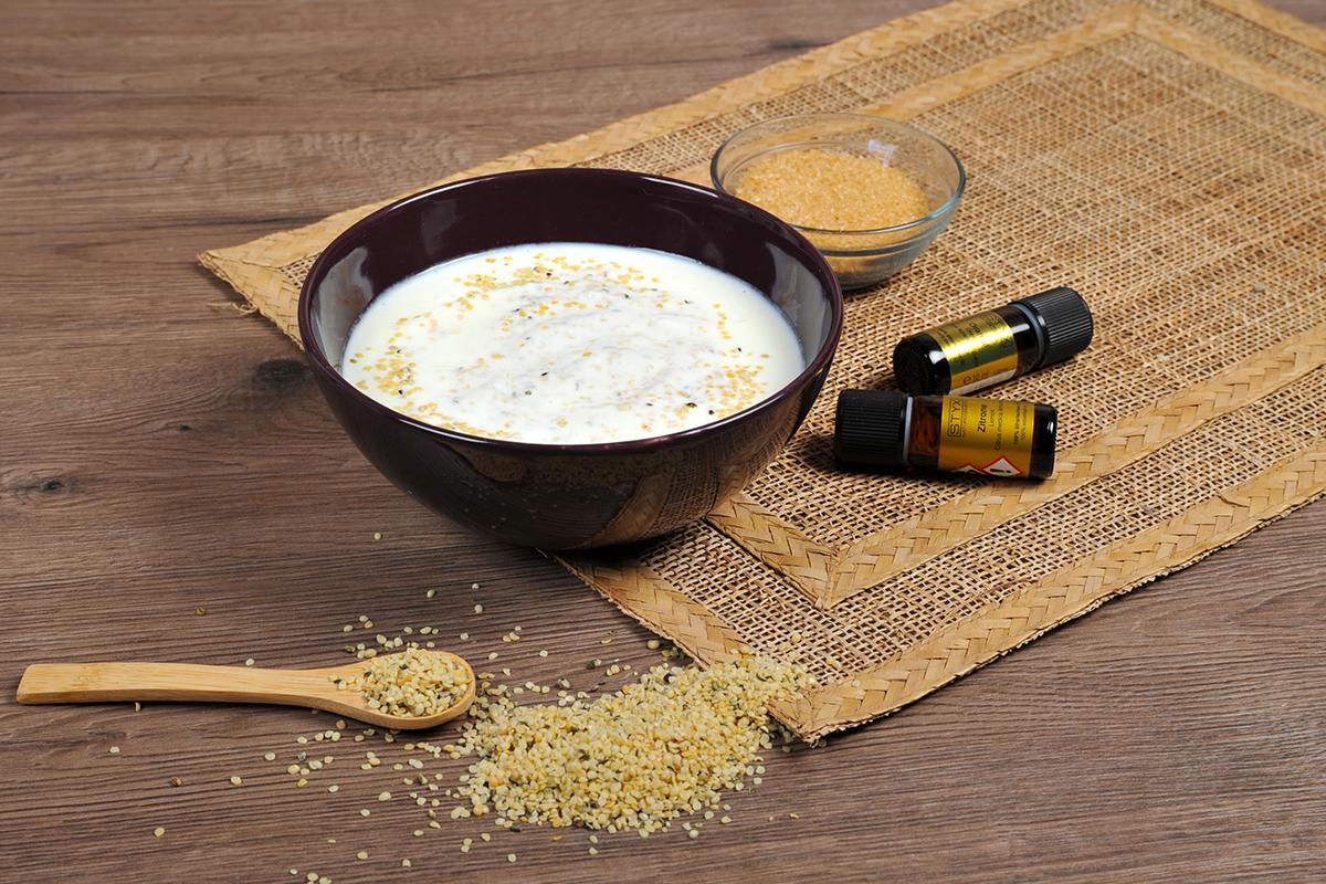 Joghurtmischung - Zitrusjoghurt mit ätherischen Ölen von STYX Naturcosmetic