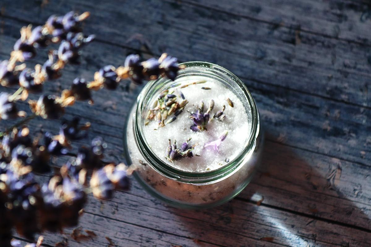 DIY Lavendelzucker - Tipp von BEAUTY Club AUSTRIA